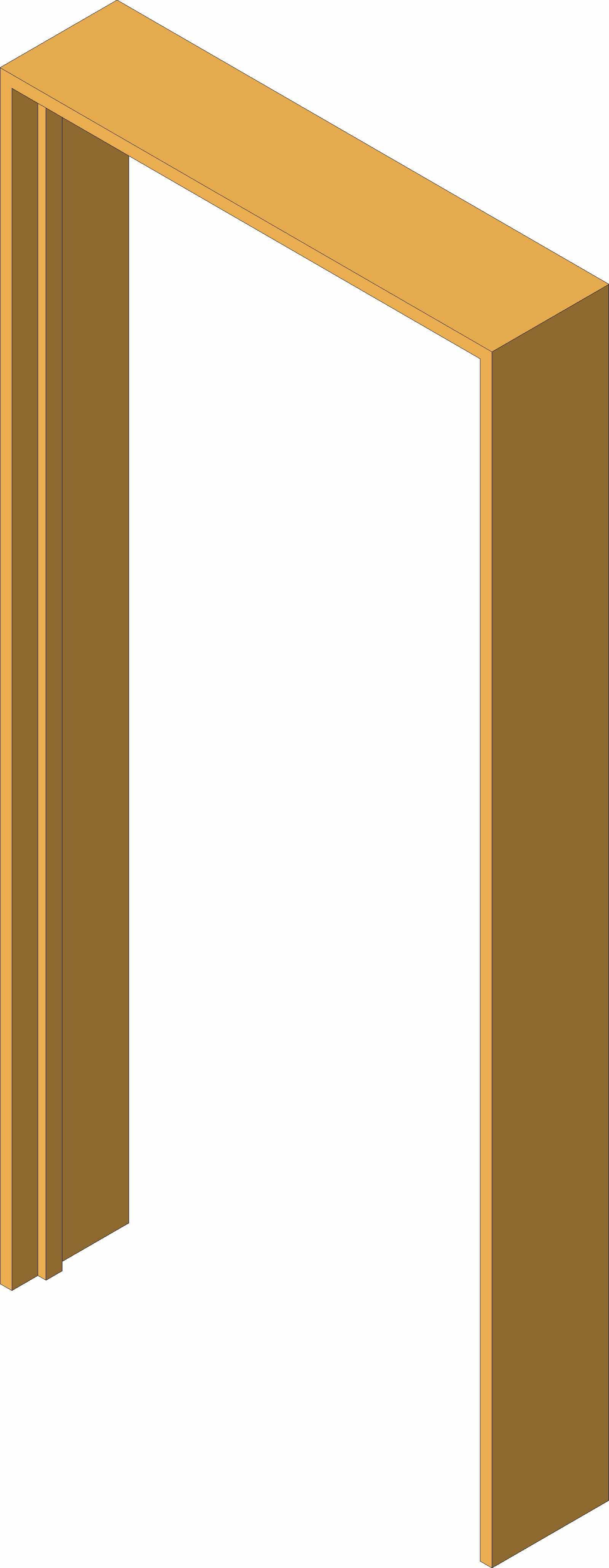 Cypress Door Frame 6x2 Standard Size